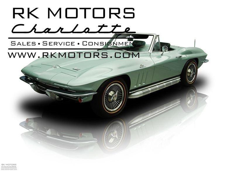 132051 1966 Chevrolet Corvette RK Motors Classic Cars for Sale