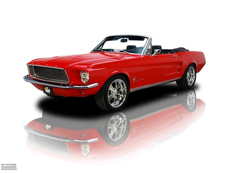 1967 ford mustang mach 1