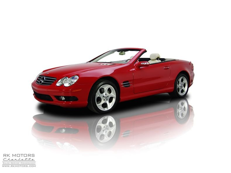 For Sale 2004 Mercedes-Benz SL500