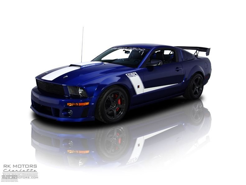 2008 ford mustang 427r track pak