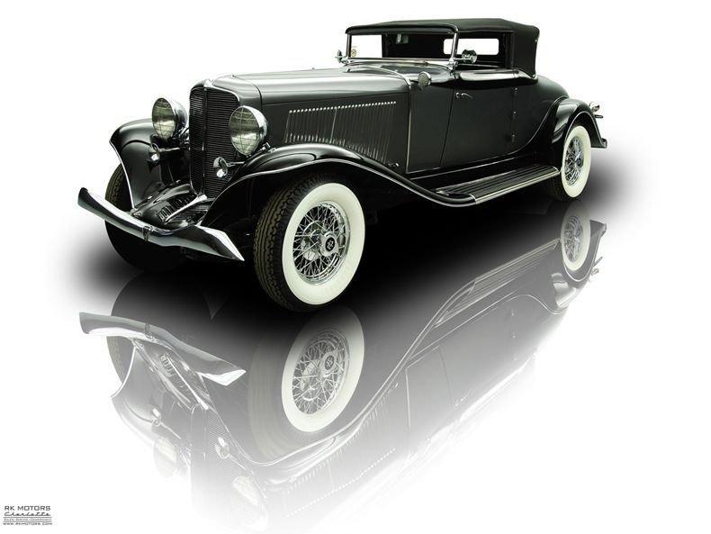 1934 auburn 1250 salon cabriolet