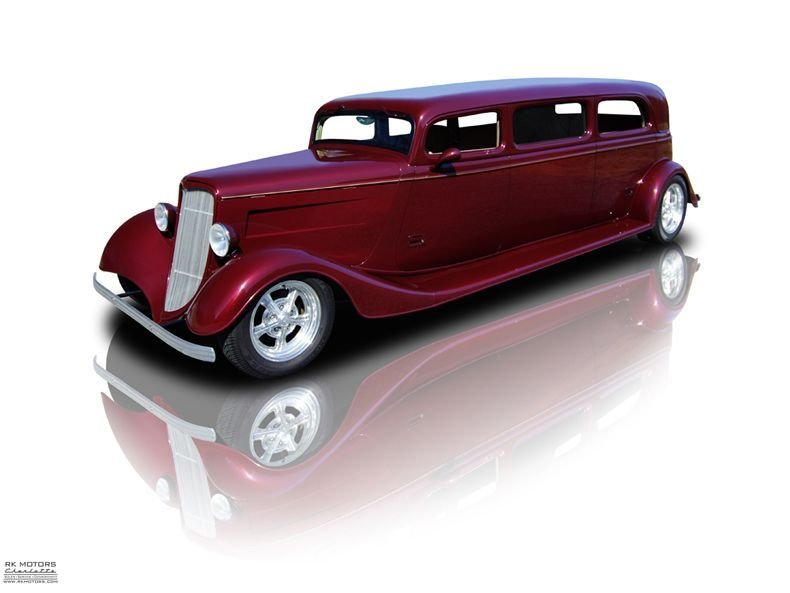 1934 ford sedan limousine