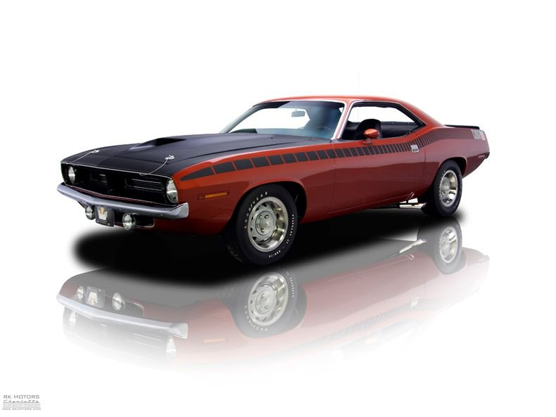 132407 1970 Plymouth 'Cuda RK Motors Classic Cars for Sale
