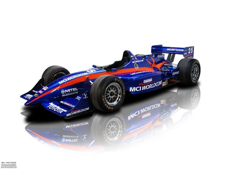 2000 toyota pioneer mci worldcom indy car no 97