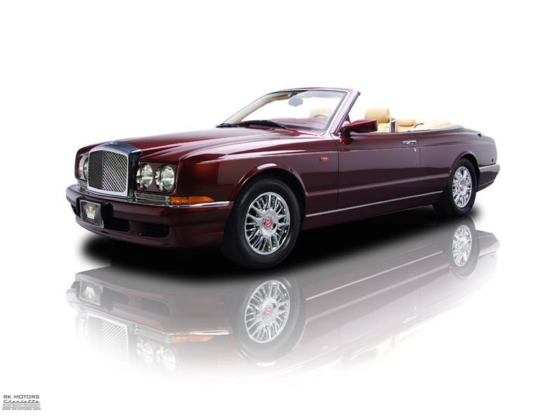 2002 bentley azure tourer