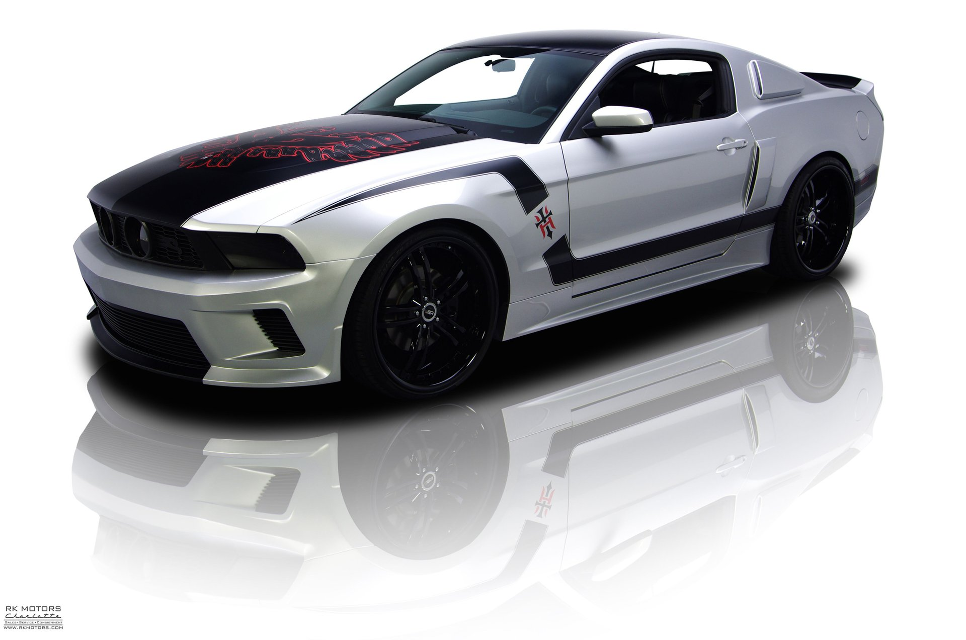 2011 ford mustang hawkized