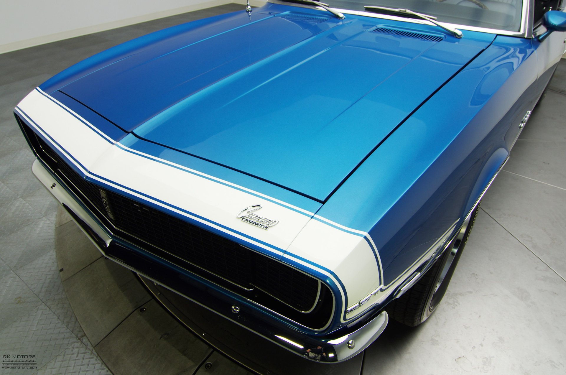 132543 1968 Chevrolet Camaro RK Motors Classic Cars for Sale