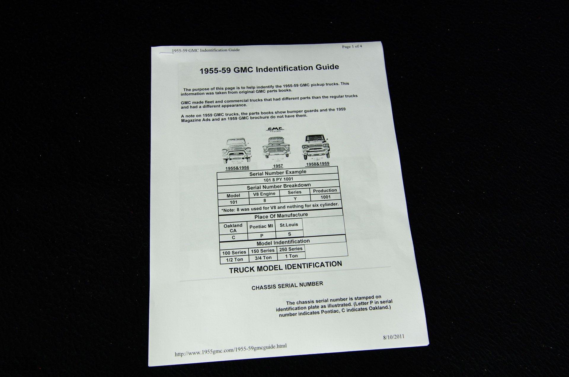 132557 1955 GMC 100 RK Motors Classic Cars for Sale