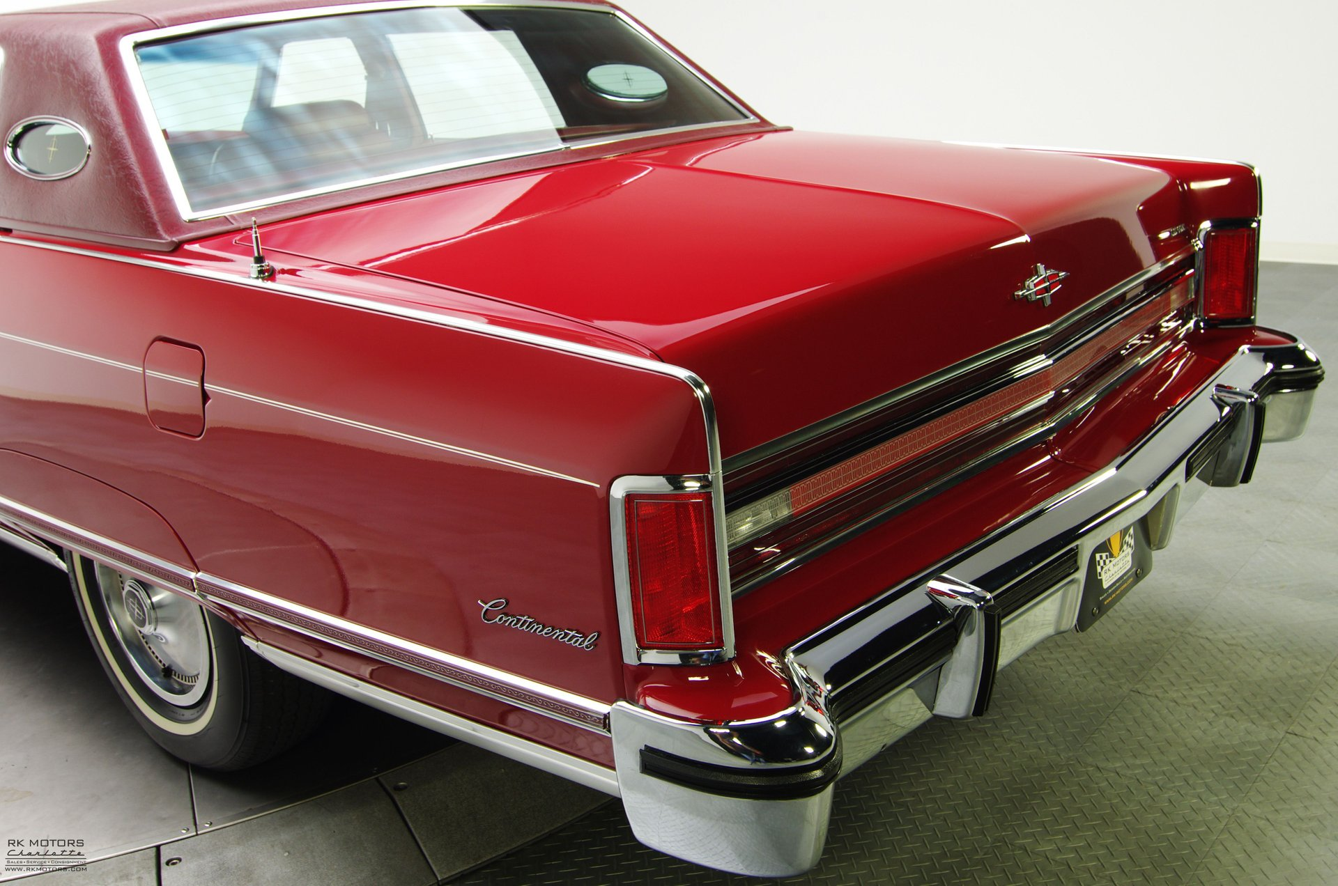 132618 1976 Lincoln Continental Rk Motors Classic Cars For Sale