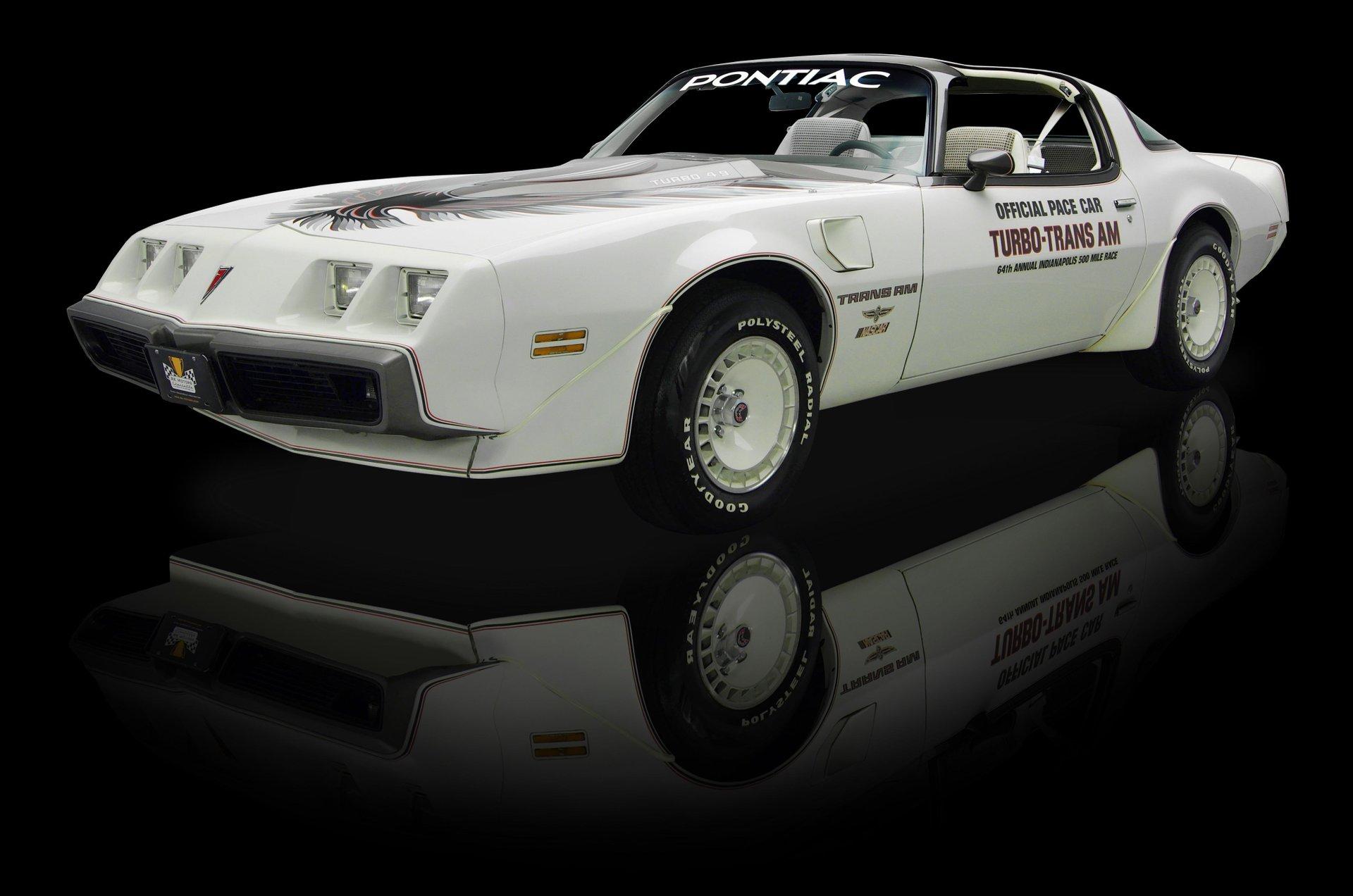 1980 pontiac firebird trans am turbo pace car