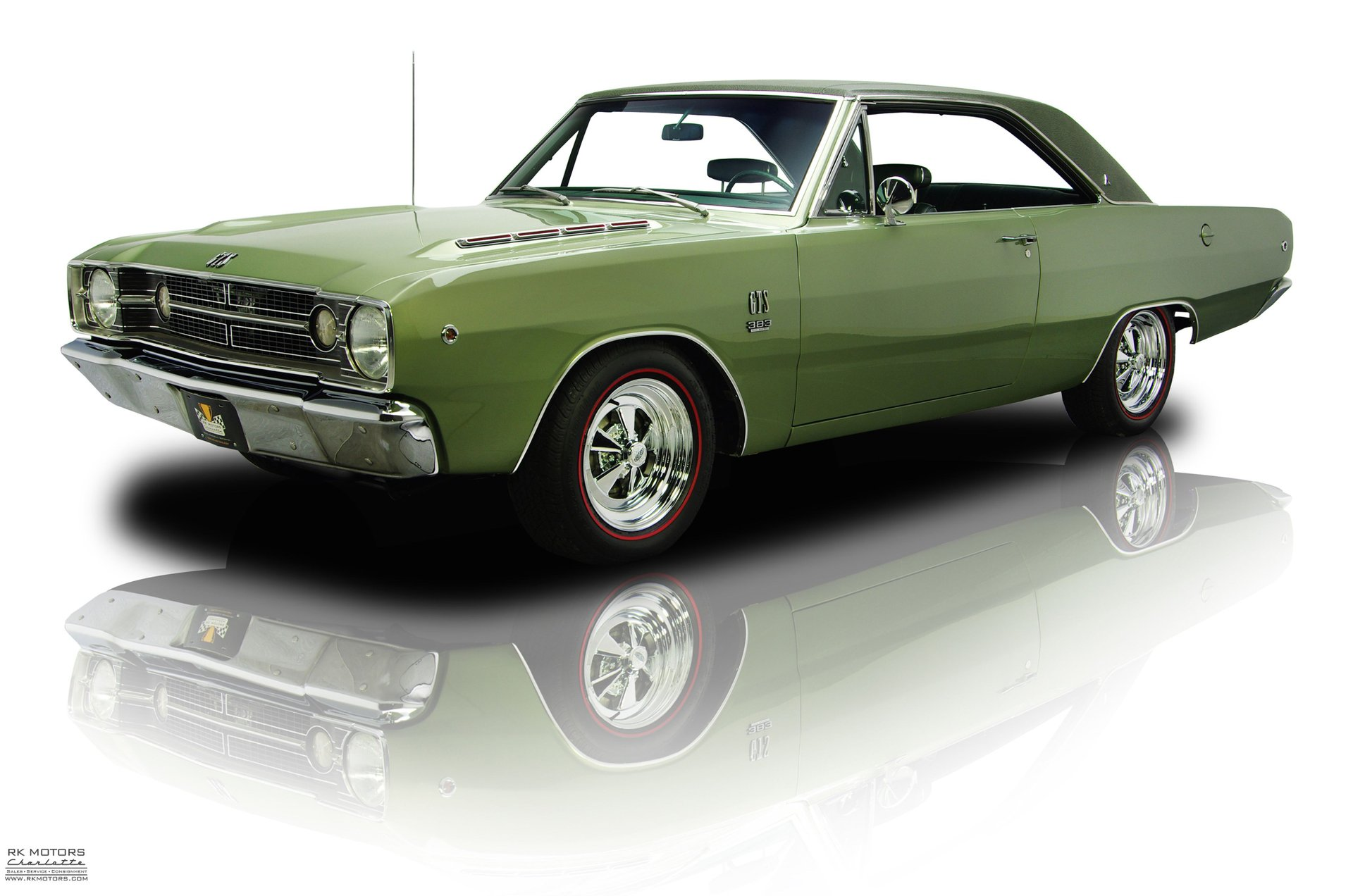 132645 1968 Dodge Dart Rk Motors Classic Cars And Muscle Cars For Sale