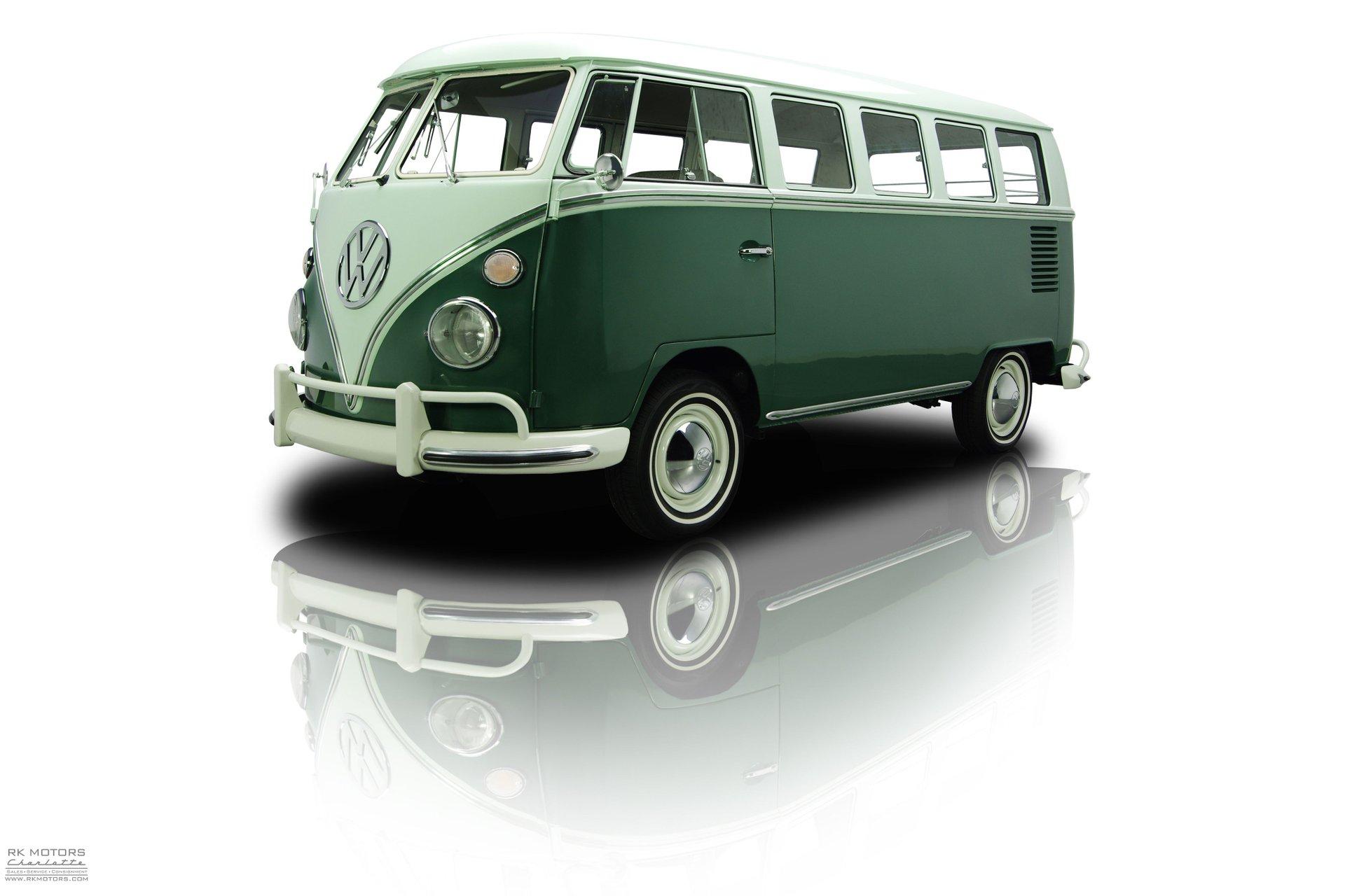 1965 volkswagen microbus 13 window
