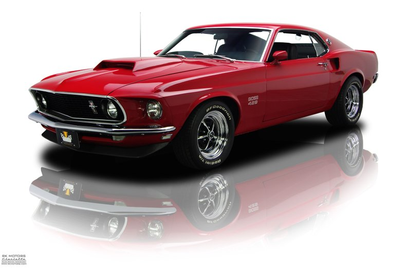Mustang Boss 429 For Sale >> 132700 1969 Ford Mustang Rk Motors Classic Cars For Sale
