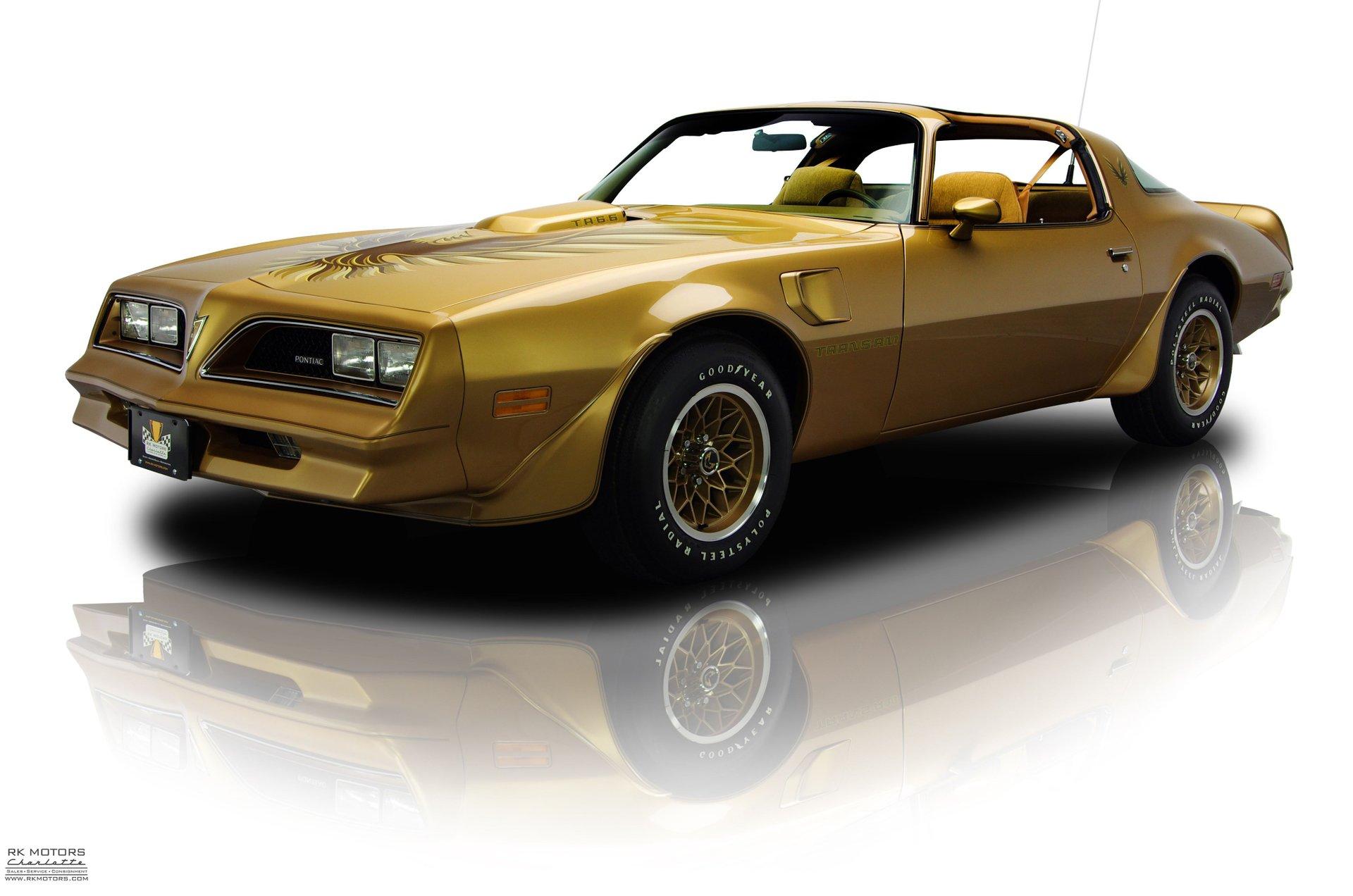 1978 pontiac firebird trans am gold special edition