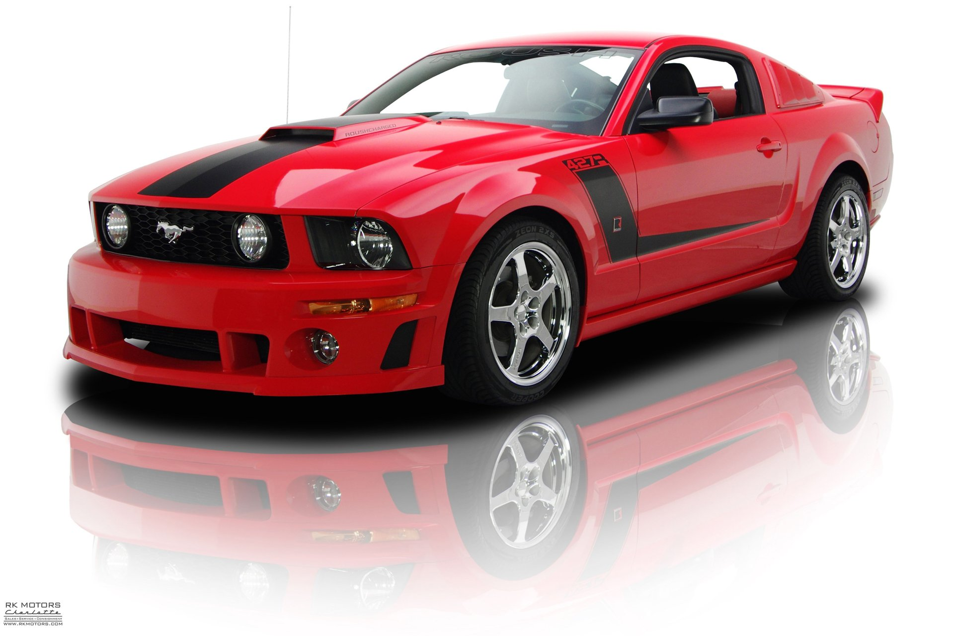 Roush stage 3 427r mustang 4 6l supercharged 5 speed 8