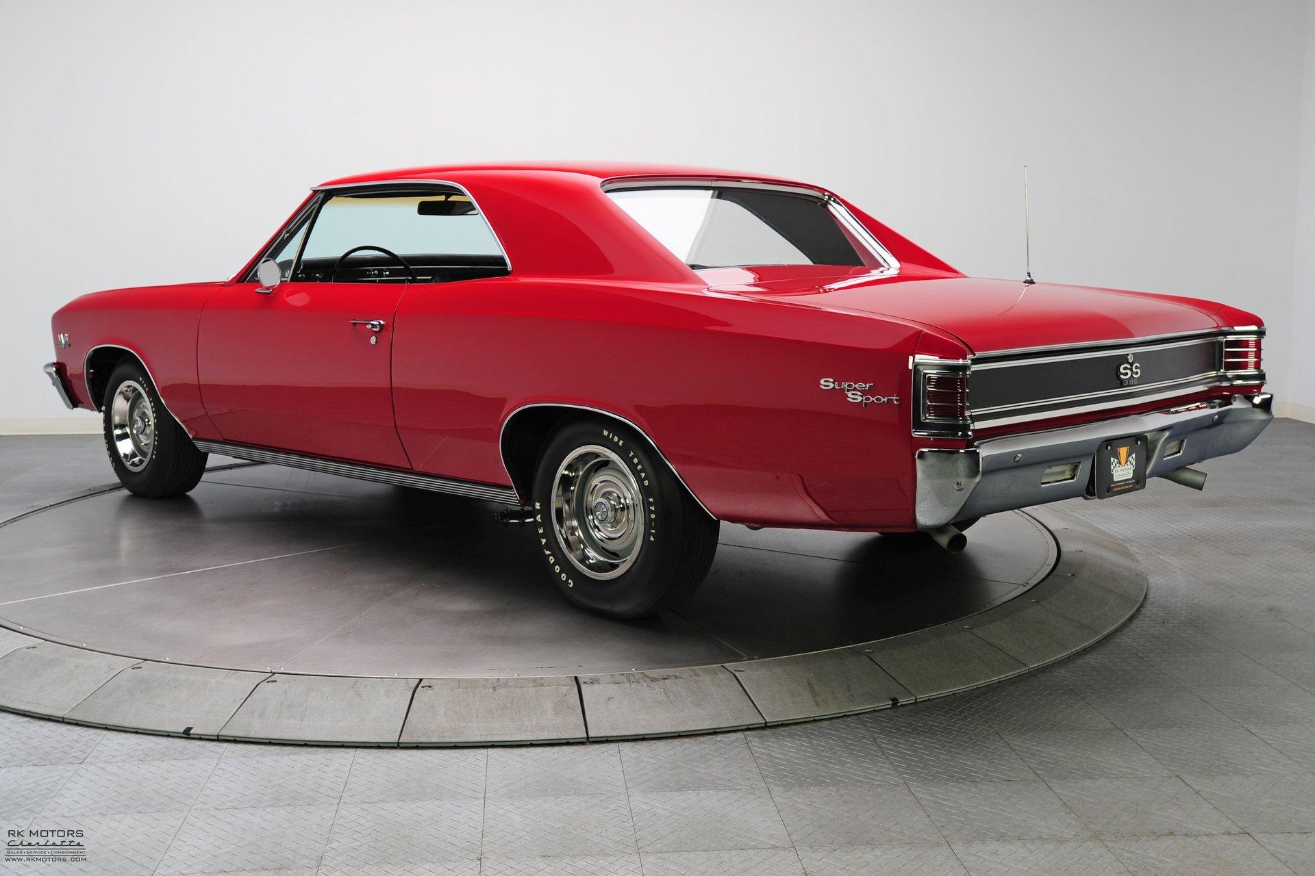 132779 1967 Chevrolet Chevelle RK Motors Classic Cars for Sale