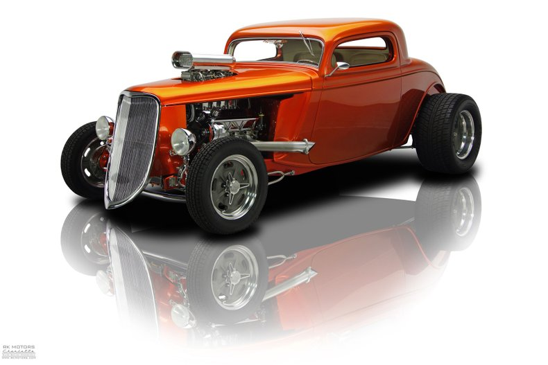 For Sale 1933 Ford 3-Window