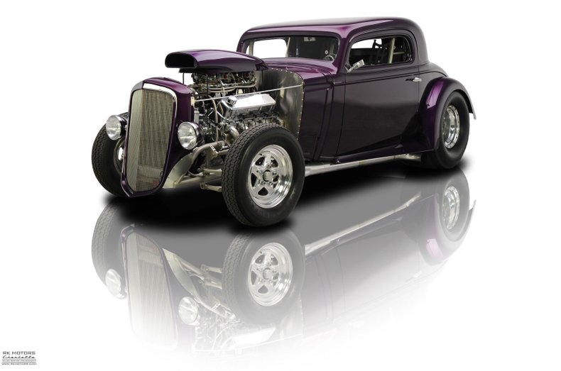 132802 1934 Chevrolet Coupe RK Motors Classic Cars for Sale