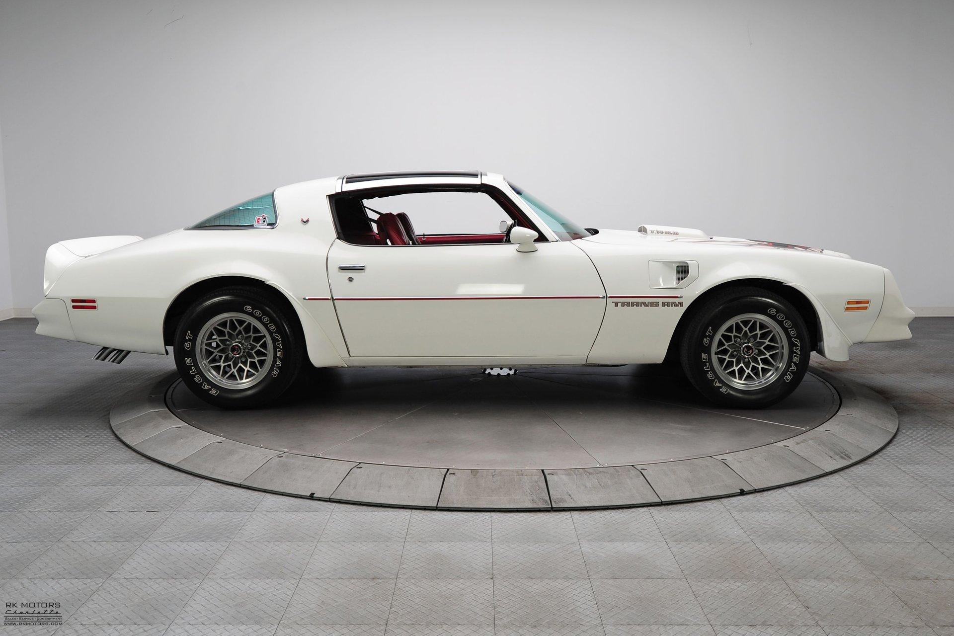 132854 1978 Pontiac Firebird RK Motors Classic Cars for Sale