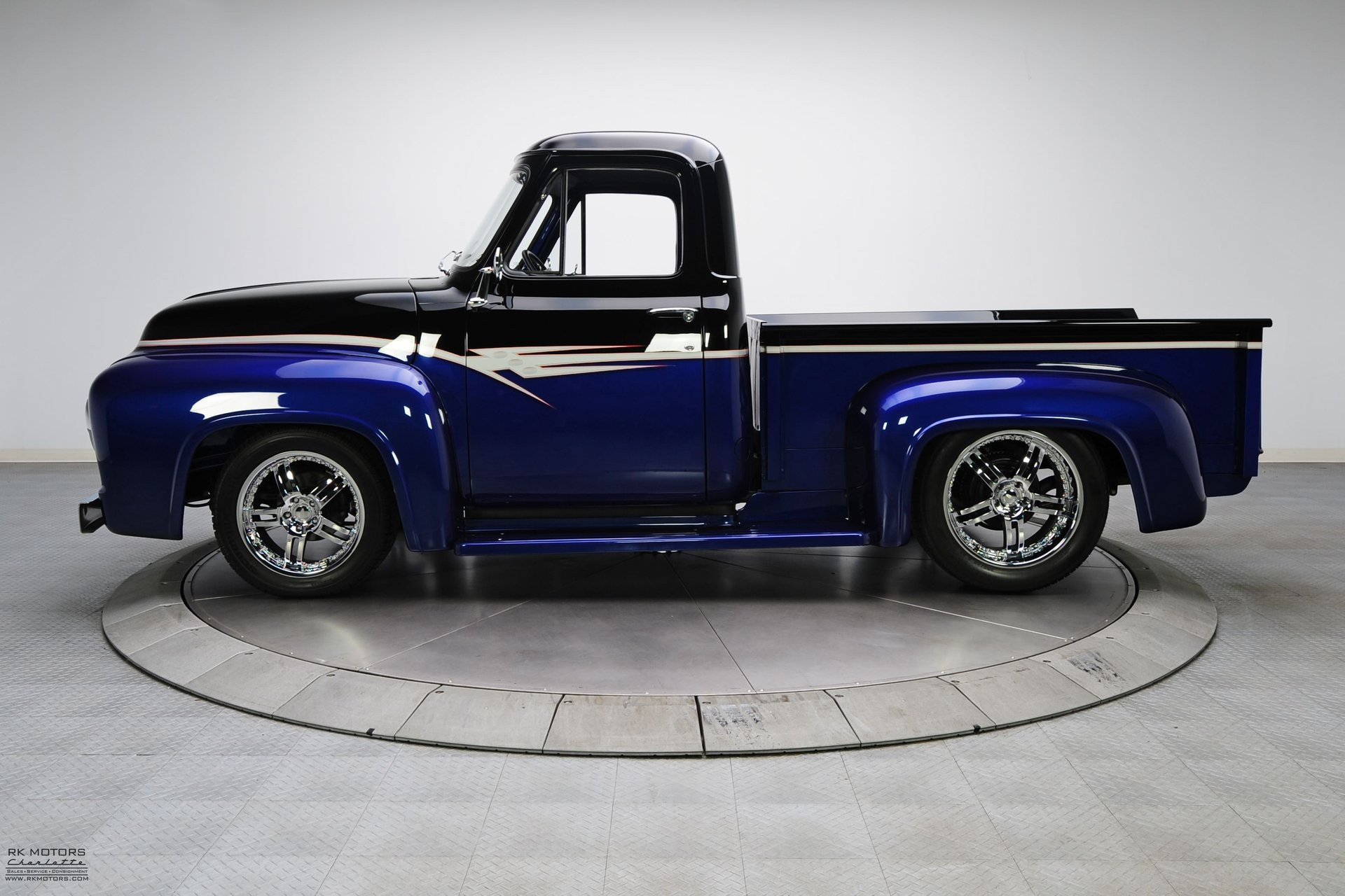 132949 1955 Ford F100 Rk Motors Classic Cars For Sale Paint