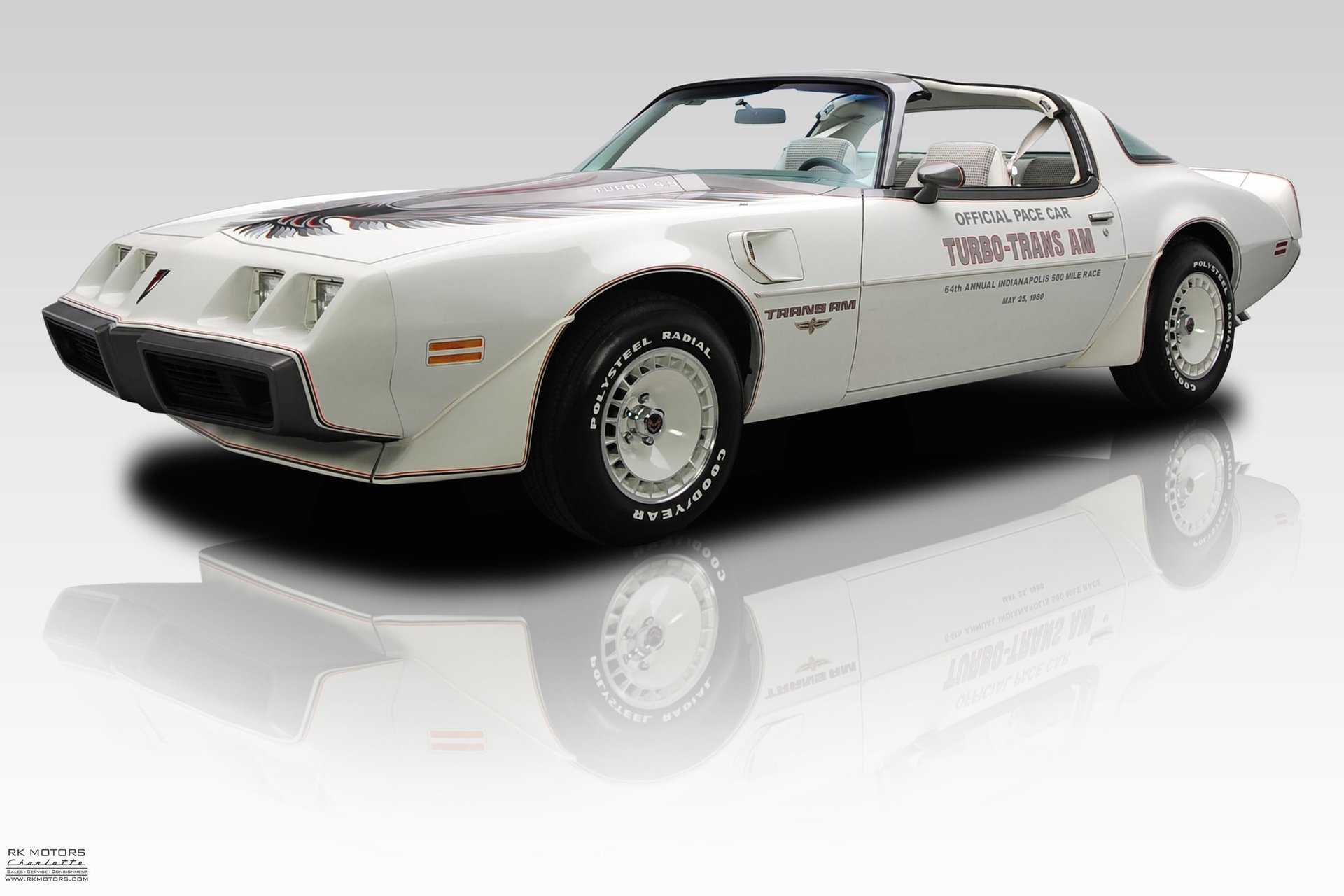 1980 pontiac firebird trans am turbo pace car