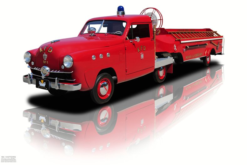 1951 crosley fire engine hook ladder