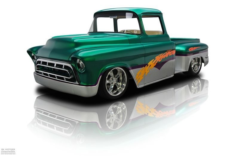 1957 chevrolet 3 window pickup