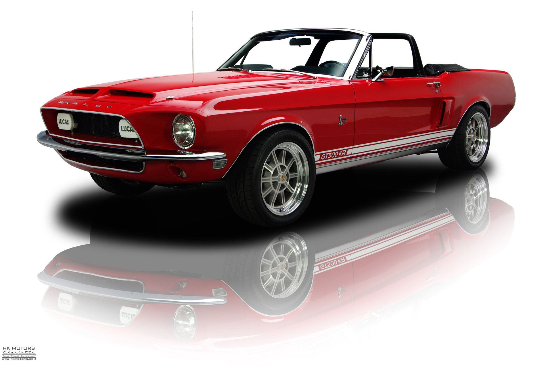 1967 ford mustang gt500kr