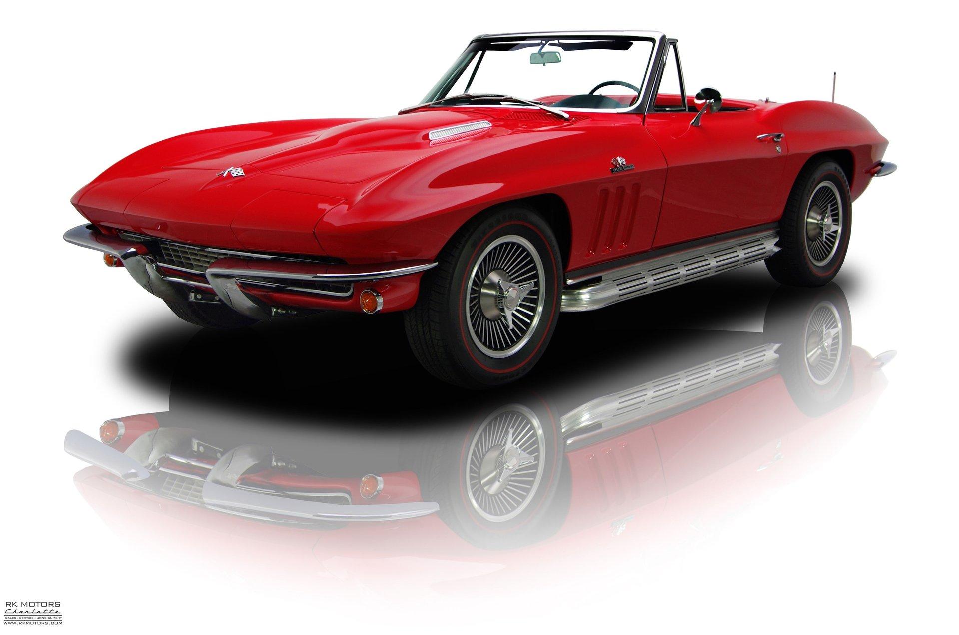 Red classic corvette investment transact investment