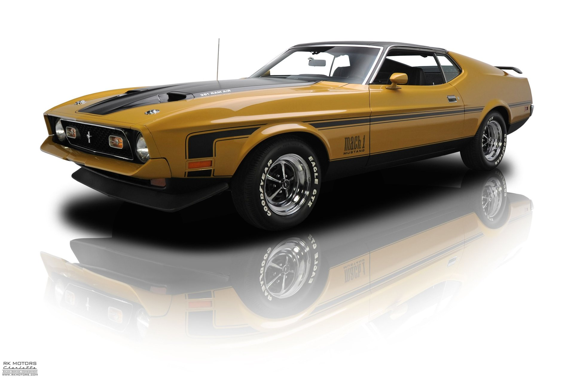 Frame up restored mustang mach 1 351 cobra jet 4 speed