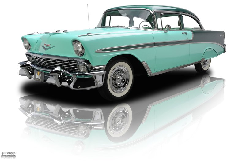 133310 1956 Chevrolet Bel Air Rk Motors Classic Cars And Muscle Cars For Sale