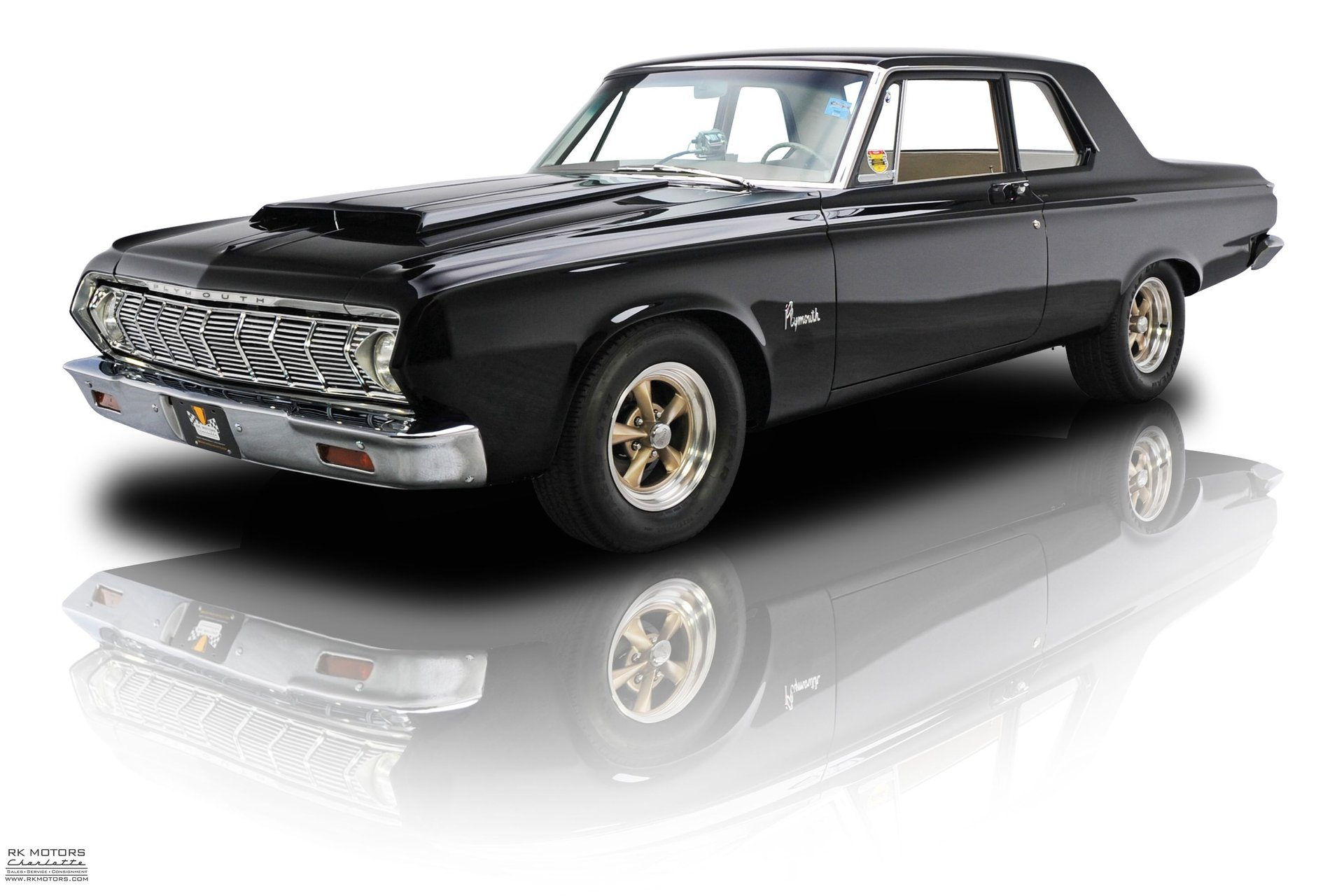1964 plymouth savoy a 864 super stock