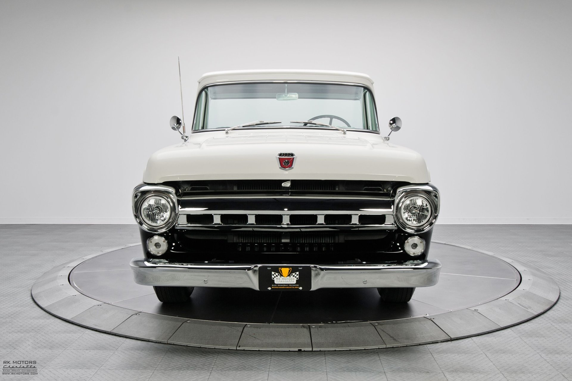 134020 1957 Ford F100 Rk Motors Classic Cars For Sale 1955 Headliner