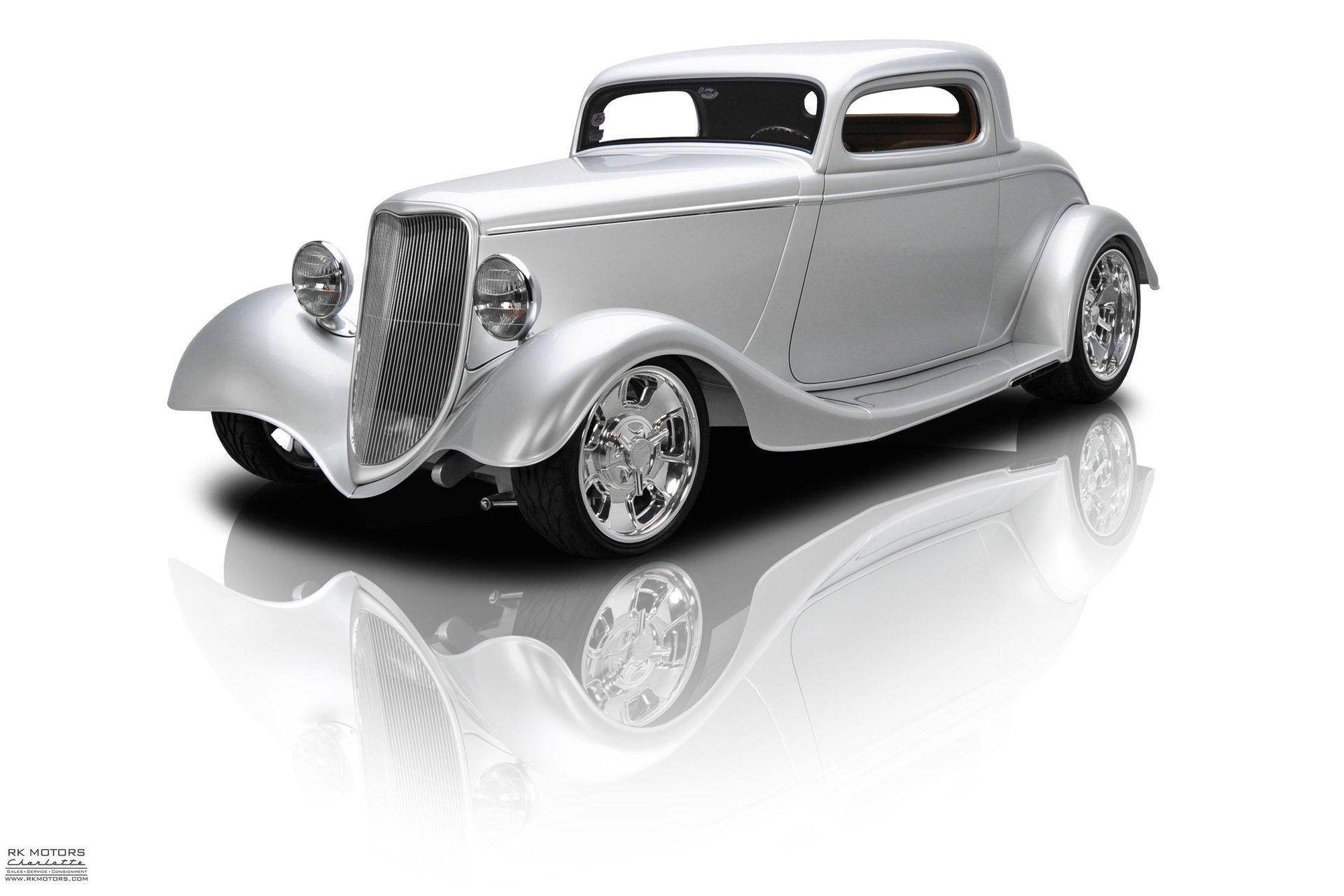1933 ford 3 window