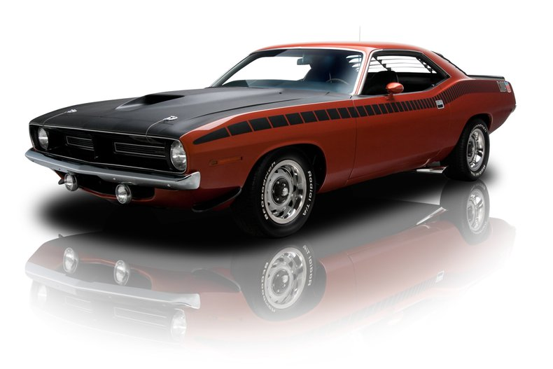 134323 1970 Plymouth 'Cuda RK Motors Classic Cars for Sale