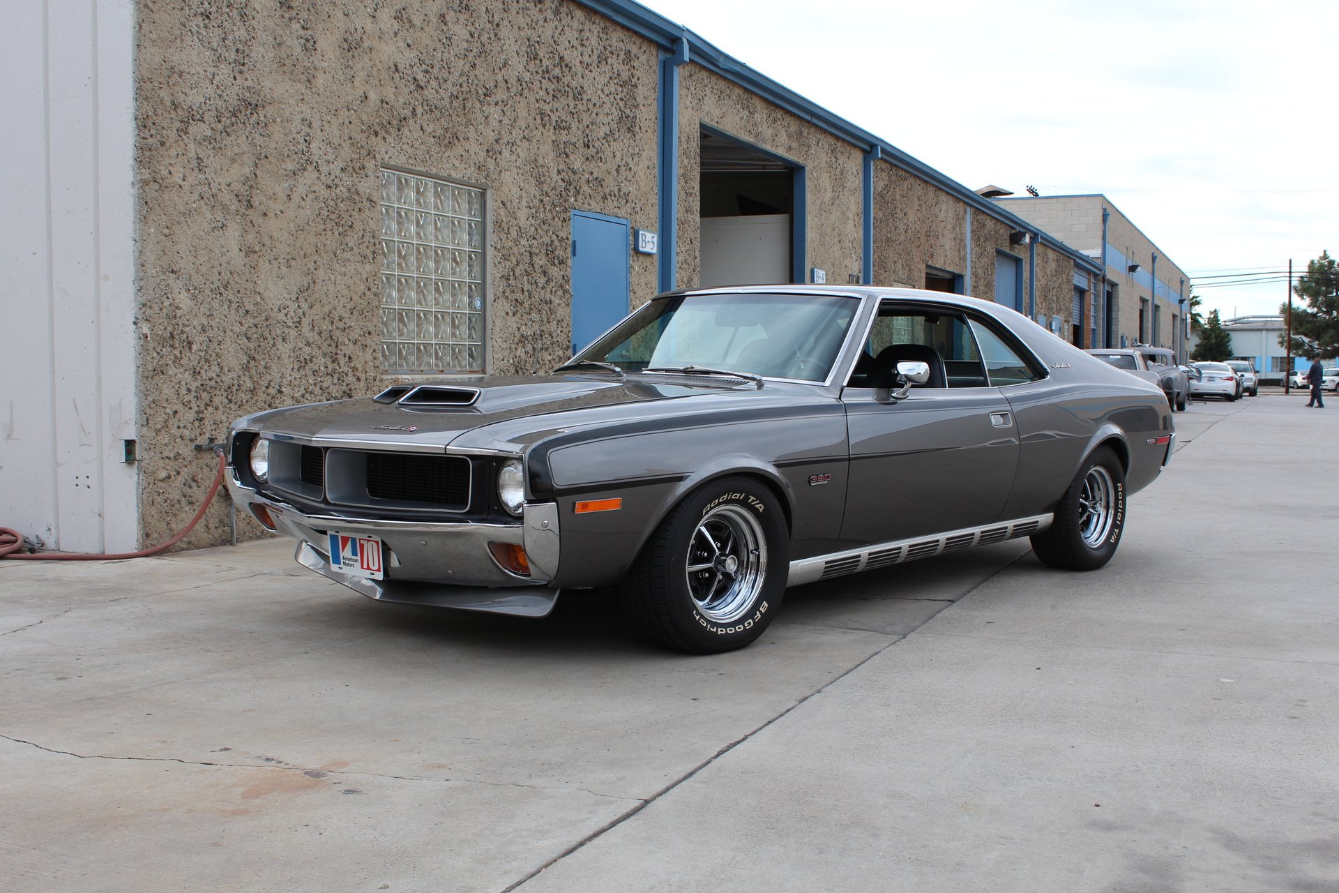 1970 amc javelin sst mark donohue signature edition