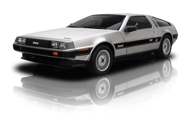 For Sale 1982 DeLorean DMC-12