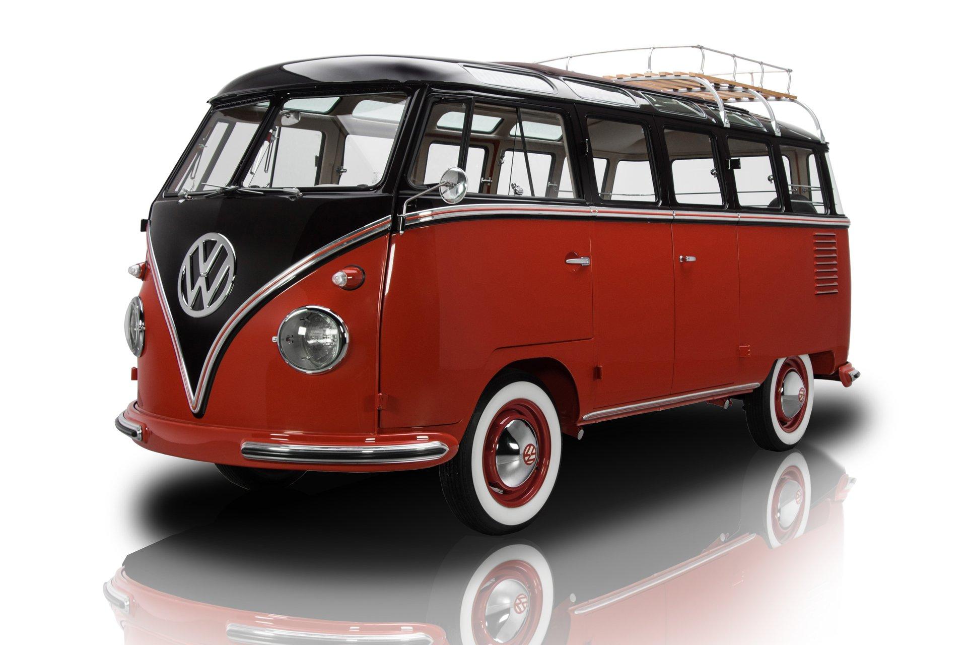 1958 volkswagen deluxe microbus