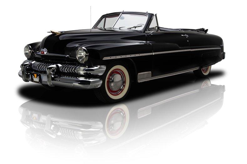 For Sale 1951 Mercury Convertible