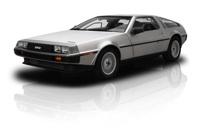 For Sale 1983 DeLorean DMC-12