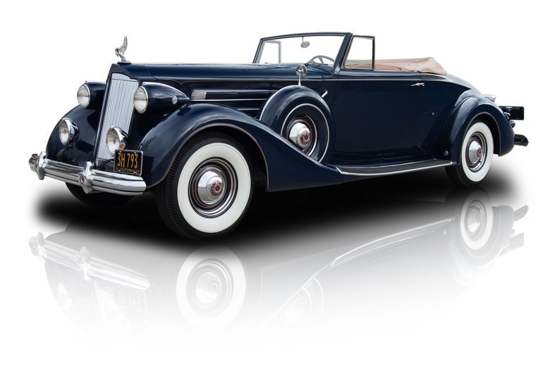For Sale 1937 Packard Twelve