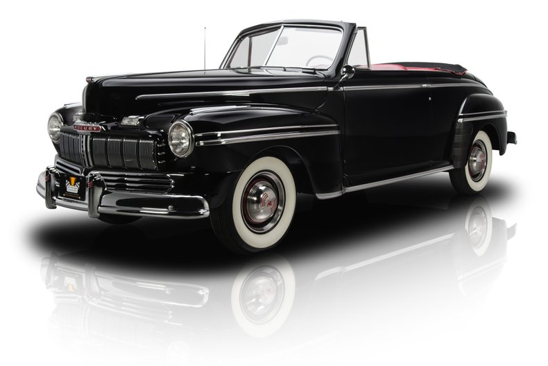 For Sale 1946 Mercury Convertible