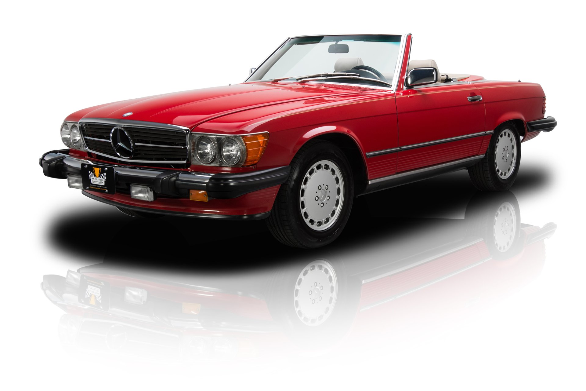 1987 mercedes benz 560 sl
