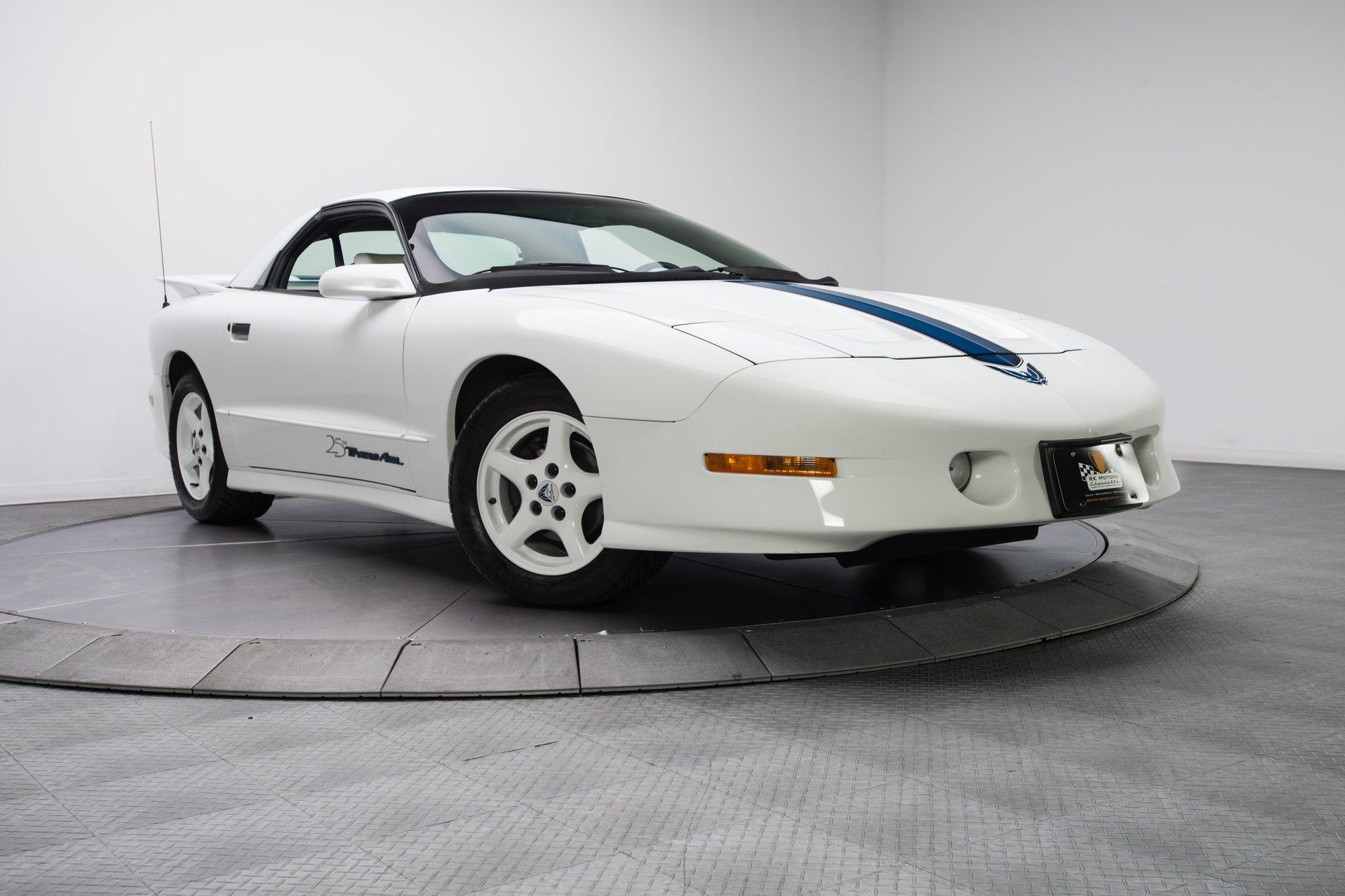1994 25th Anniversary Trans Am Specs 1994 Pontiac Firebird