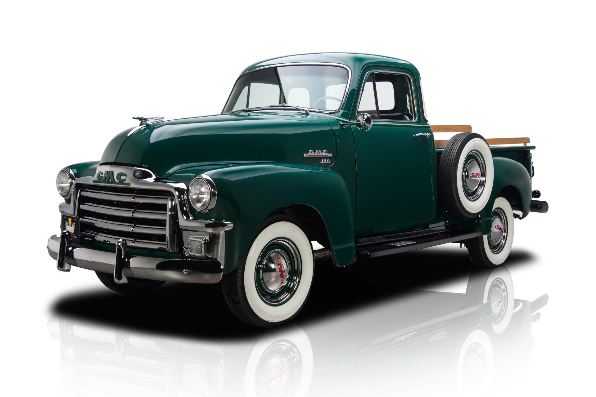 1954 gmc 100 deluxe 1 2 ton pickup