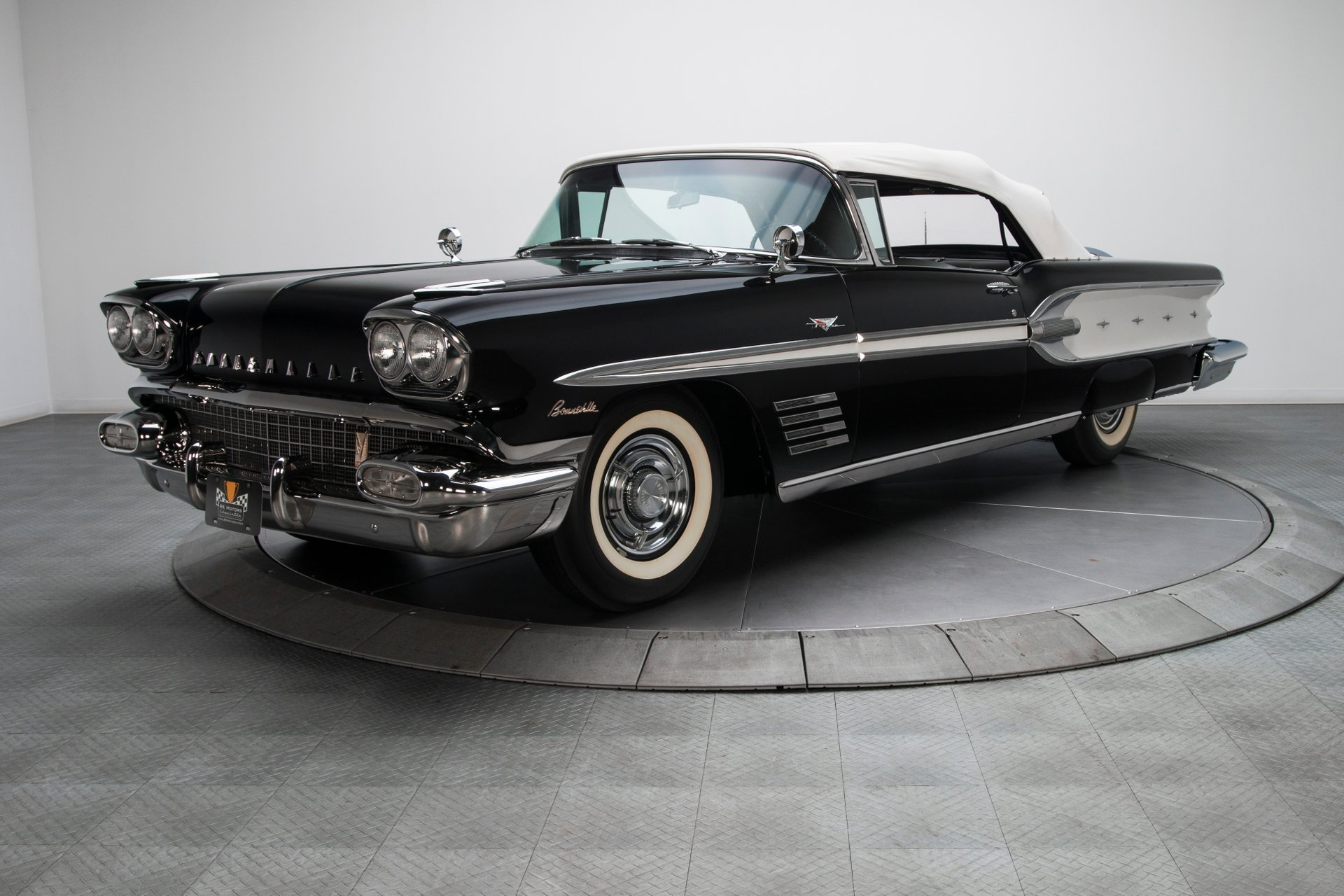 135274 1958 Pontiac Bonneville Rk Motors Classic Cars And Muscle Cars For Sale