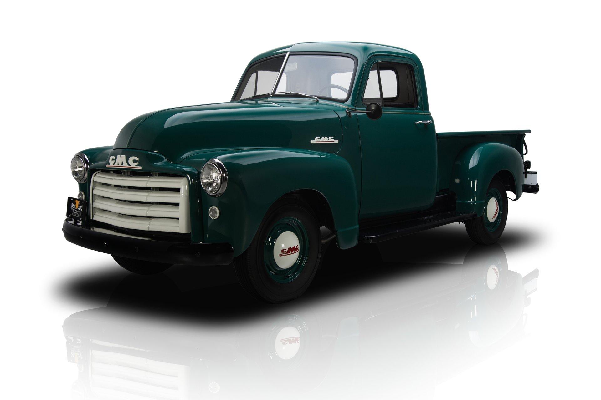 1952 gmc 100 pickup truck