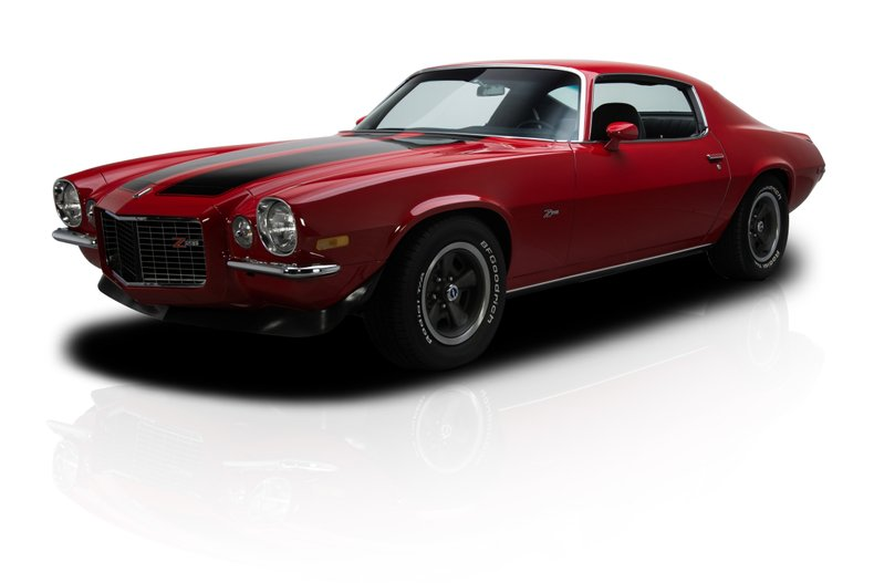 1971 chevrolet camaro z 28 rs