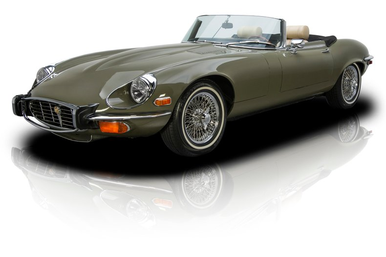 For Sale 1974 Jaguar XKE