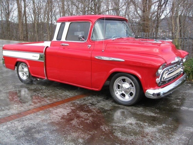 1957 chevrolet 3100 cameo pickup truck
